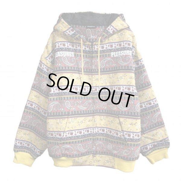 画像1: PLEASURES / paisley heavy hoodie (1)