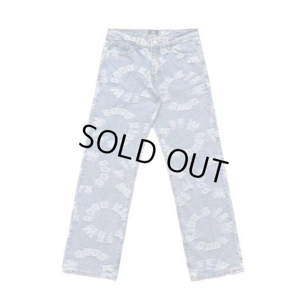 画像1: A FEW GOOD KIDS / logo denim pants (1)