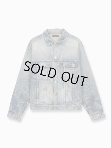 画像1: MLVINCE®︎ / type-1 denim trucker jacket (1)