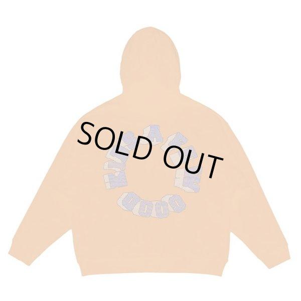 画像1: A FEW GOOD KIDS / basic rhinestone logo hoodie (1)