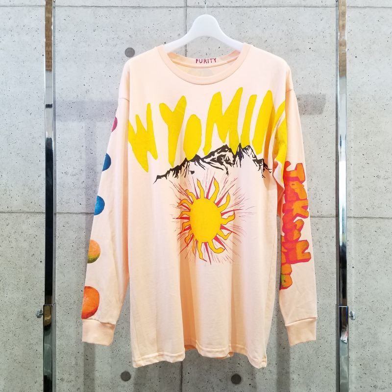 Kanye West / Ye Wyoming Merch long tee / L PNK - Maison Blossom